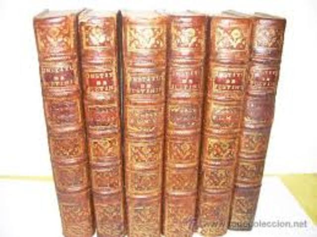 En 530 se concibio la idea de compilar la literatura jurídica clasica obedeciendo a una finalidad esencialemente practica.