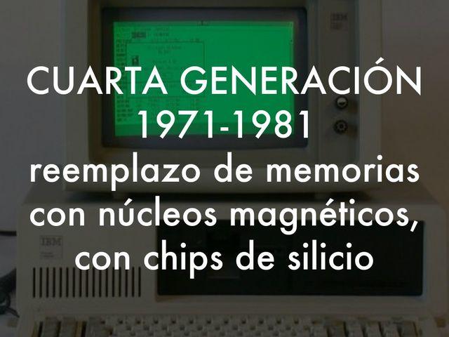 VIDEO Cuarta Generación de Computadoras.