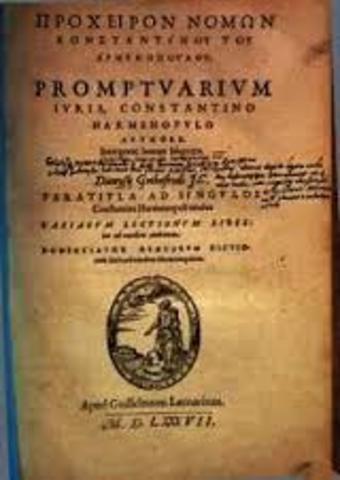 El procheiron, fue un manual practico inspirado por las institutas de justiniano, se elaboro por mandato del emperador Basilio I el macedonio 867-886 con la intencion de recuperar el clasicismo del derecho justinianeo.