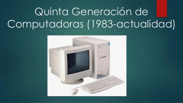 VIDEO Quinta Generación de Computadoras.