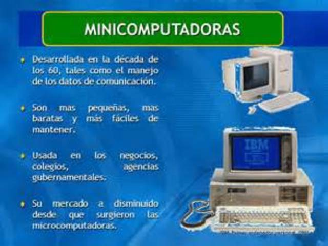 Desarrollo de las microcomputadoras
