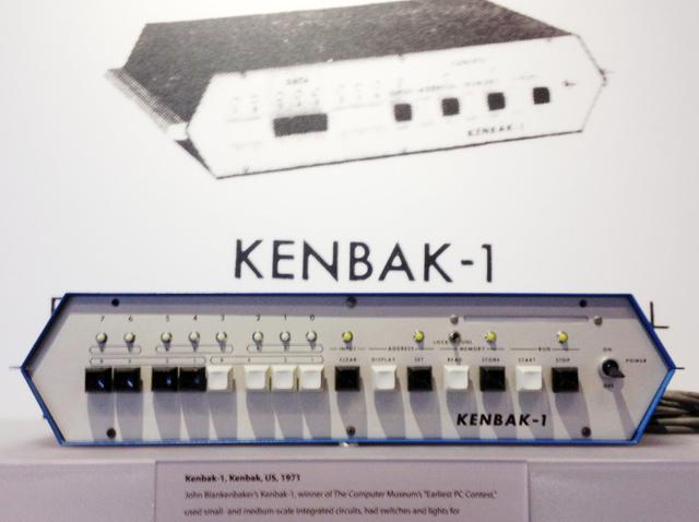 La Kenbak I, primera PC