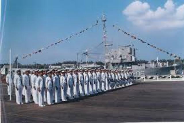 La marina comienza a utilizarlo