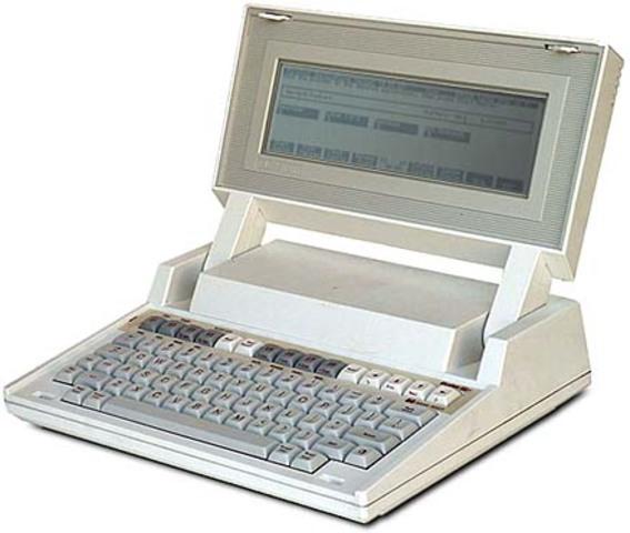 Laptop 80C86.