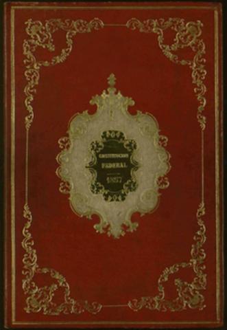 Promulgación de la Constitución de 1917.