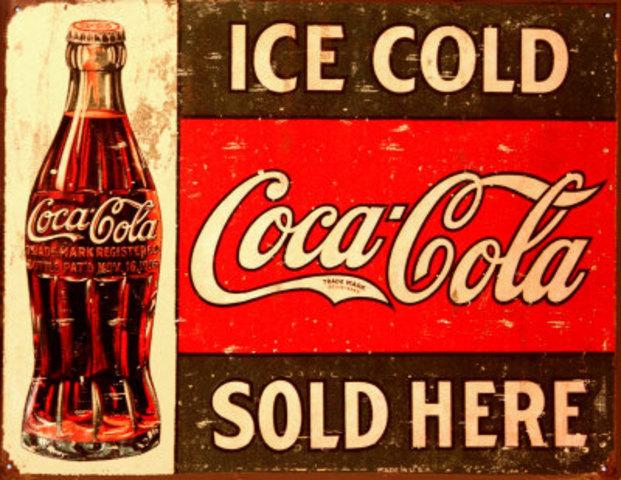 Nace la marca mas reconocida Coca Cola