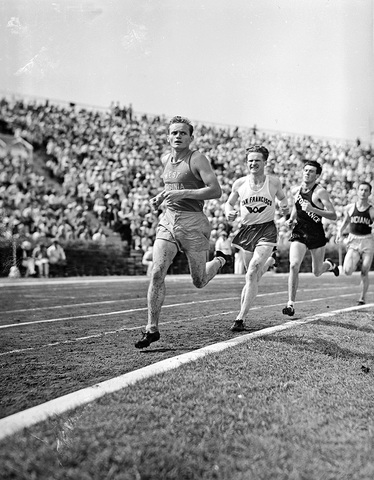 5000 meter Olympic qualifying race