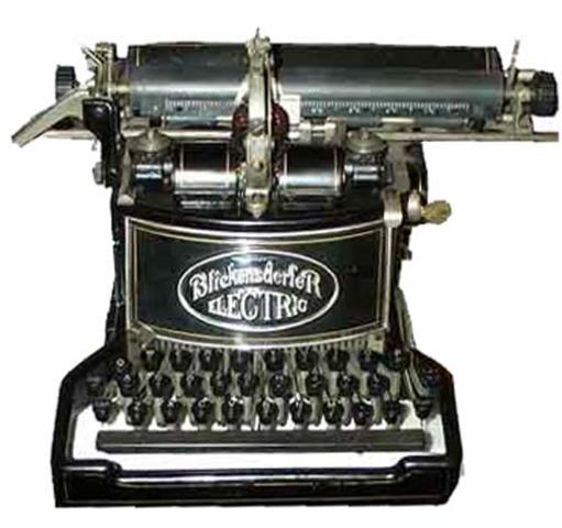 La Maquina de Escribir Eléctrica