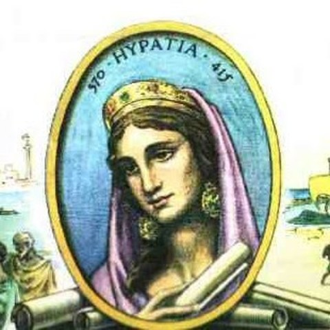 HIPATIA Escribió sobre geometría, álgebra y astronomía