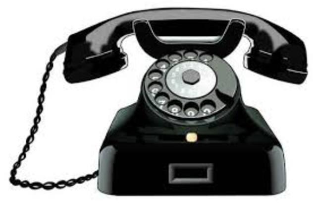 Teléfono en los hogares