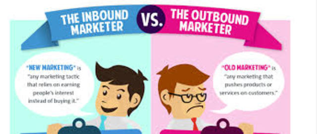 Outbound marketing.