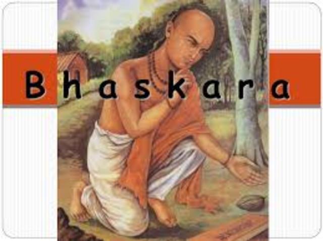 Bhaskara2. SIglo XII