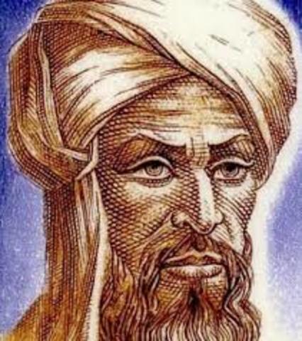 Muhammad ibn Musa al-Jwarizmi SIGLOXV