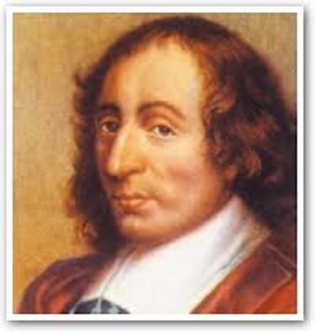 Blaise Pascal 1642