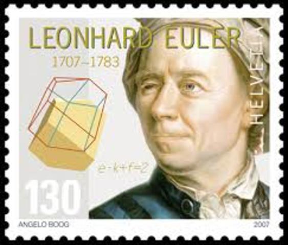 Leonard Euler  1777