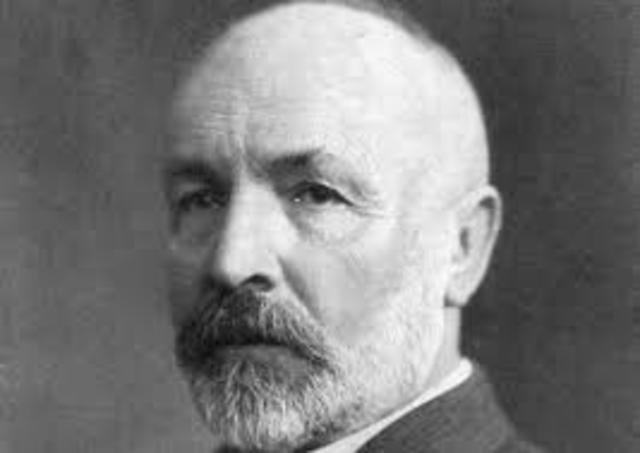 Georg Cantor 1872-185
