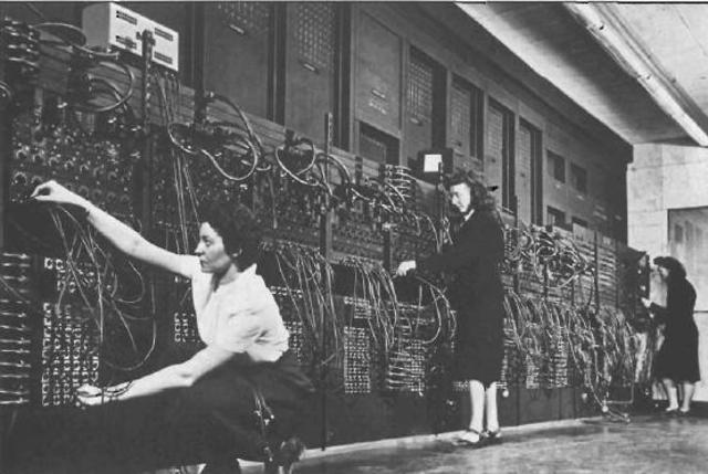 Primera computadora digital electrónica de la historia.
