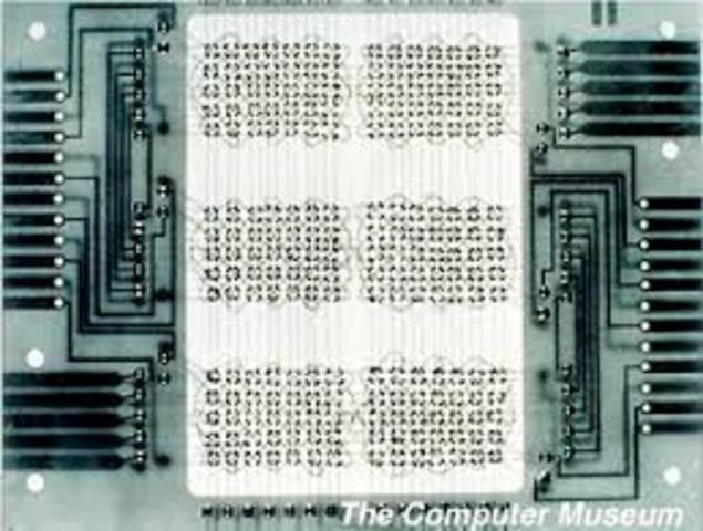 primera memoria de almacen magnetico