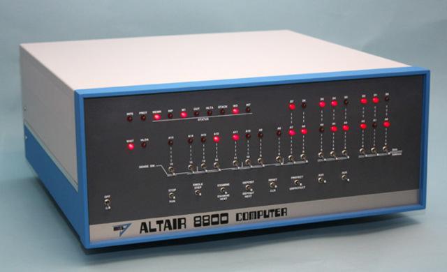 Fue fabricada la Altair 8800