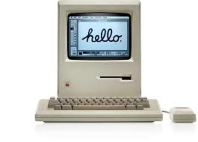 sale al mercado la Macintosh 128k, 1984