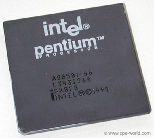 Nace el Pentium