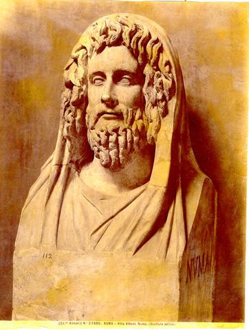 Reyes de Roma: Numa Pompilio (716 - 674 a.C.)