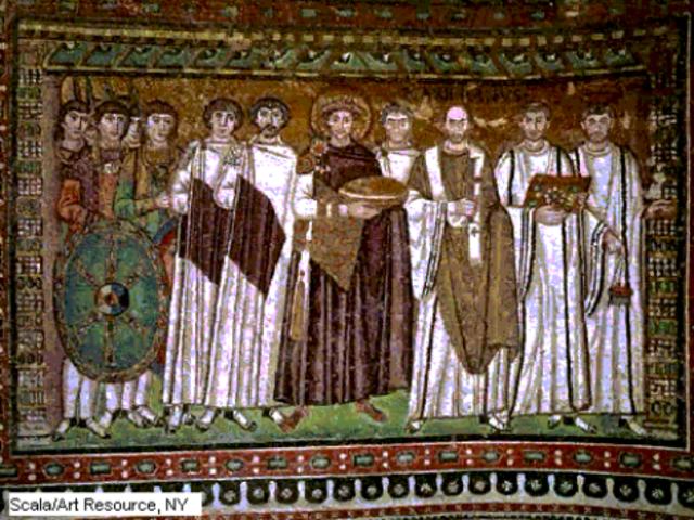 Justiniano nombra una comision de diez juristas
