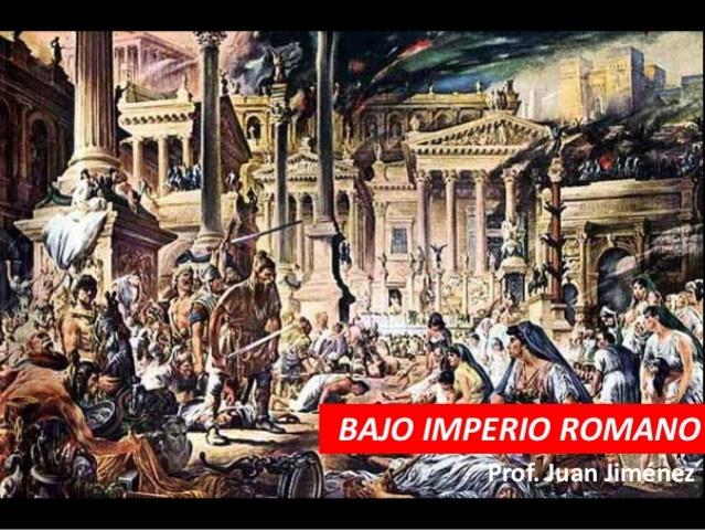 El Bajo Imperio (284-395)