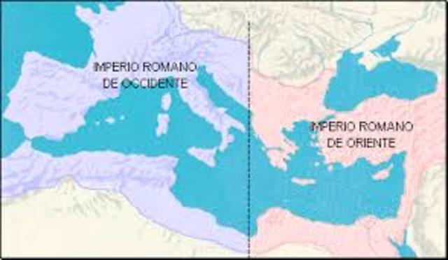 (395) La división del Imperio