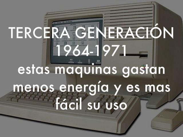 VIDEO TERCERA GENERACION DE COMPUTADORAS