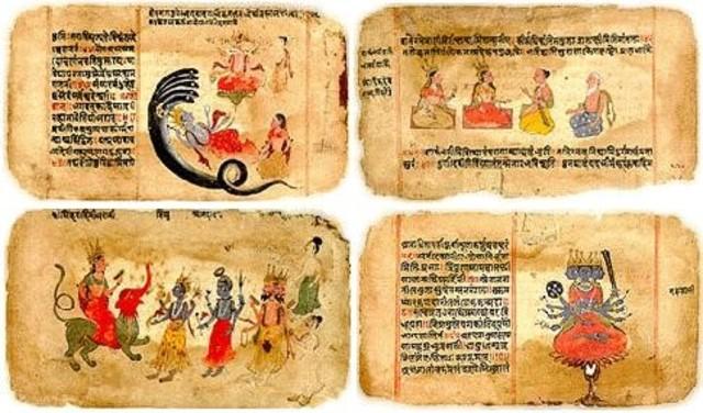 Literatura hindú (1500 a.C.)