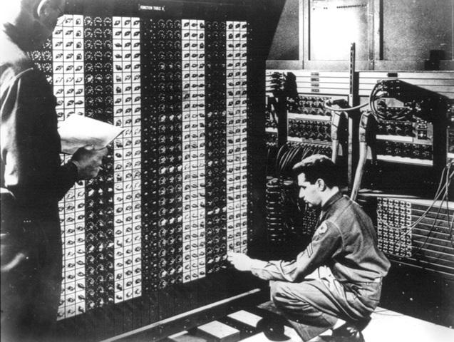 Presentacion en publico de ENIAC