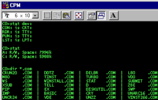 Control Program for Microcomputers (CPM)