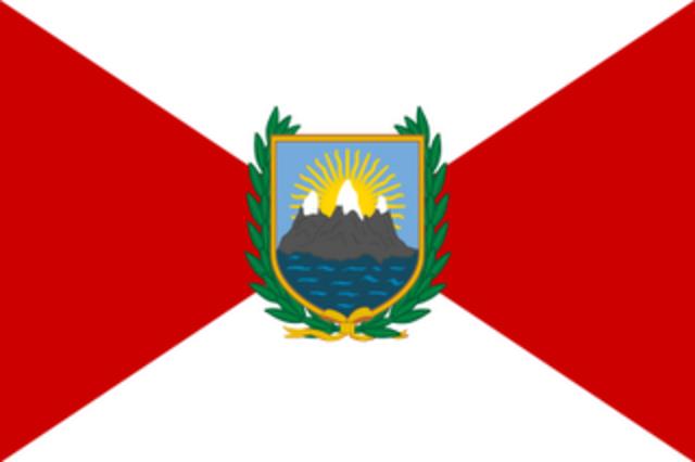 Primera Bandera del Peru