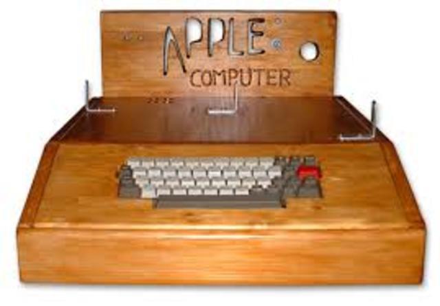 NACIÓ APPLE COMPUTER (APPLE I.)