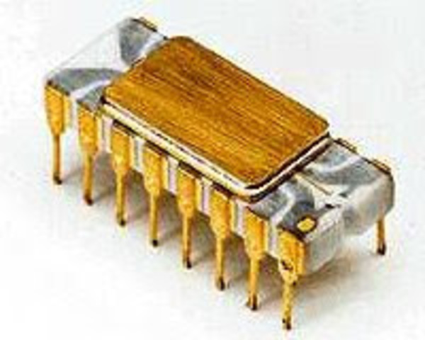 Primer microprocesador o chip