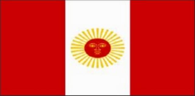 TERCERA BANDERA DEL PERU