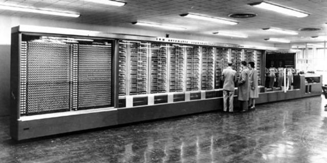 "Primera Computadora Americana ""MARK 1"""