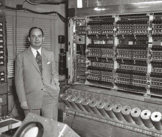 Von Neumann sugirio el sistema binario