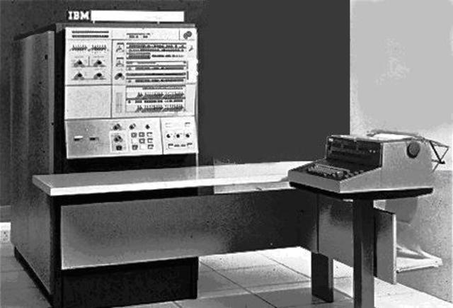 Computadora Comercial con Circitos Integrados IBM 360
