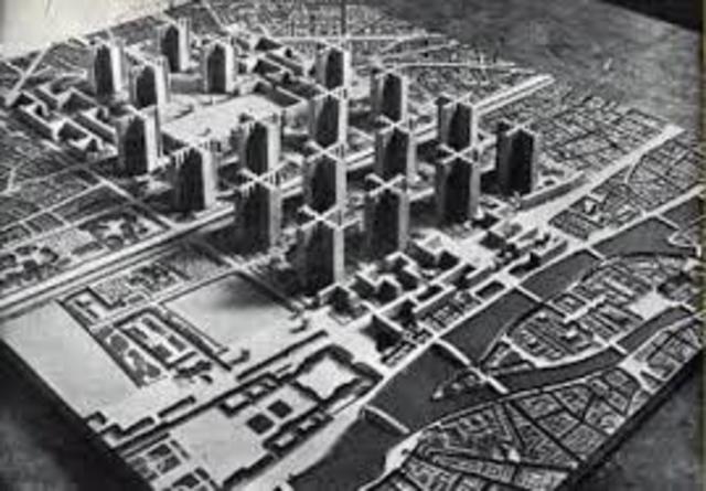 Lecorbusier publica la carta de Atenas