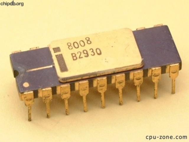 Procesador 8008