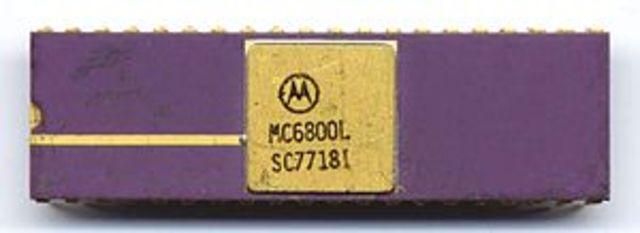 procesador  Motorola MC6800