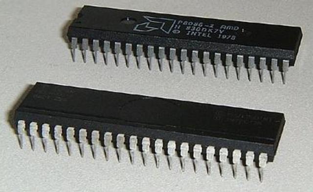 Procesadores Intel 8086 y el Intel 8088