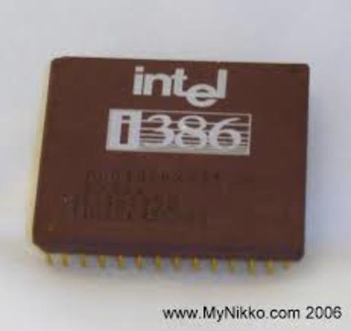 E Intel 80386