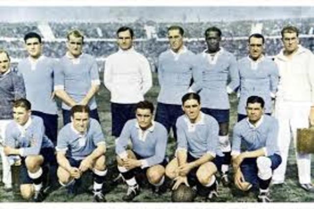 El primer campeón de este torneo es su anfitrión Uruguay.