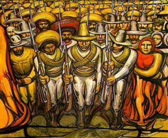 Incio de la Revolución Mexicana