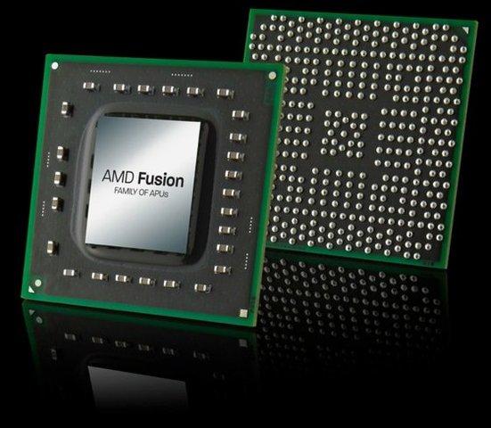 El AMD Fusión