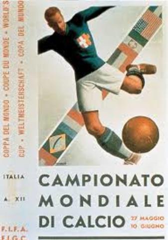 Italia organiza la segunda copa del mundo