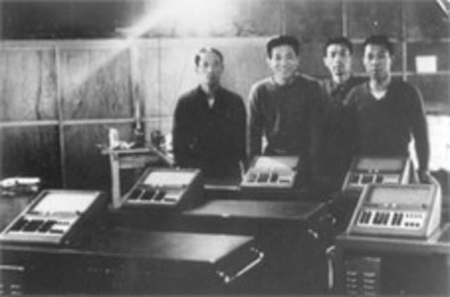 Prototipo de Calculadoras de escritorio Casio